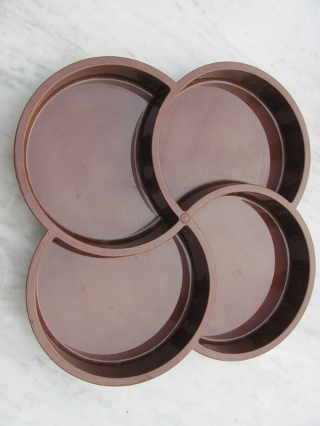 Plastics: Dansk Tray #2, Brown
