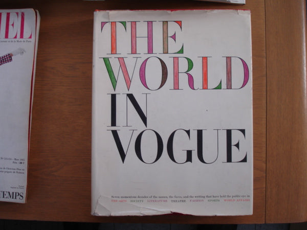 Book: The World In Vogue