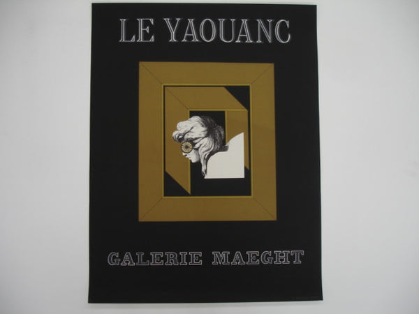 Print: Le Yaouanc Poster, Galerie Maeght
