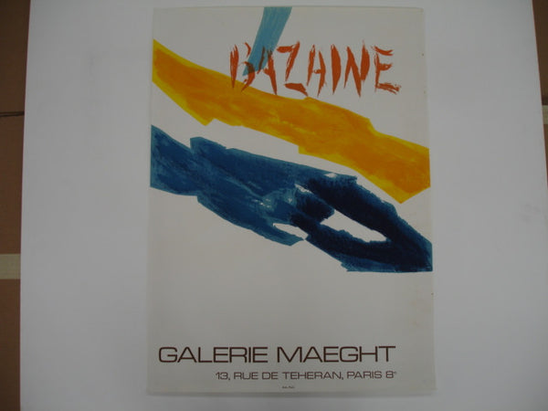 Print: Bazaine Exhibition Poster, Galerie Maeght, Paris