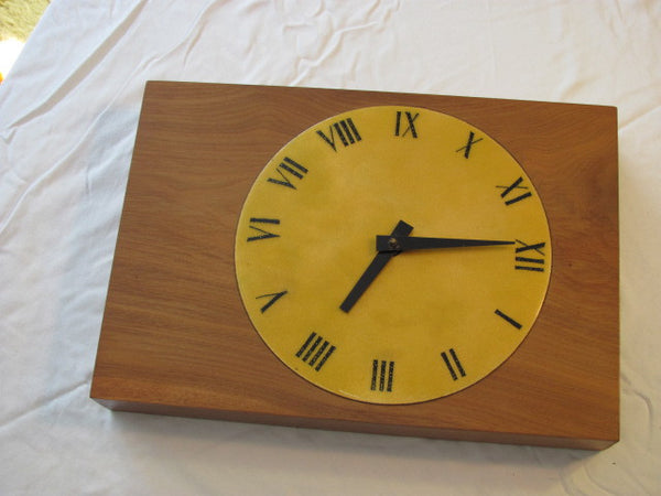Clock: Mid Century Wall Clock