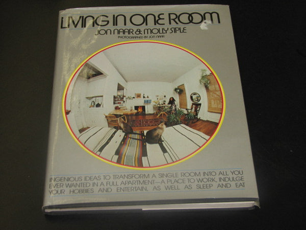 BOOK: Living In One Room by Jon Naar & Molly Siple. Free shipping in the USA