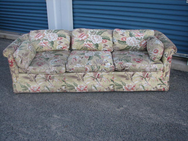 Seating: Baker Furniture 3 Cushion Sofa   - SOLD