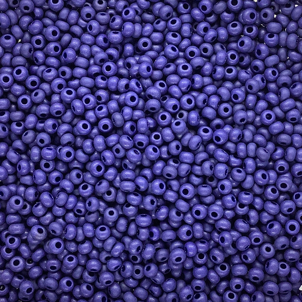 Matte Opaque Dark Royal Blue 10/0