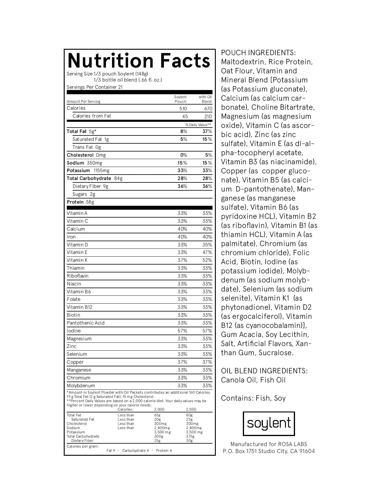 Soylent (meal replacement)