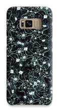 Load image into Gallery viewer, Black Neurons Phone Case