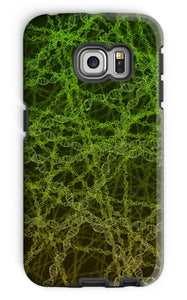 Genetic editing (green) Phone Case