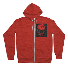 Load image into Gallery viewer, Brain Areas Unisex Full Zip Hoodie