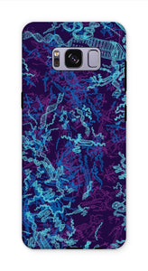 Blue CRISPR Phone Case