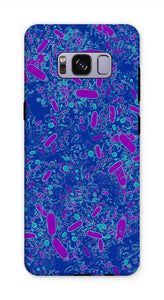 Blue Bacteria Phone Case - Boutique Science