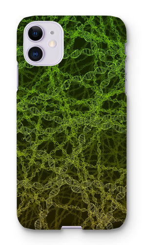 Genetic editing (green) Phone Case - Boutique Science