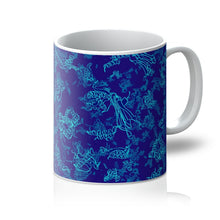 Load image into Gallery viewer, Protein Structure (blue) Mug