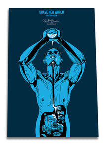 Brave New World Set of three posters - Boutique Science