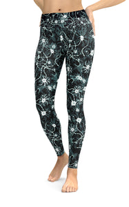 Black neurons leggings - Boutique Science