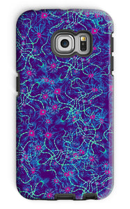 Indigo Neurons Phone Case