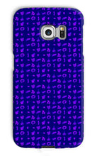 Load image into Gallery viewer, Indigo Model Organisms Phone Case