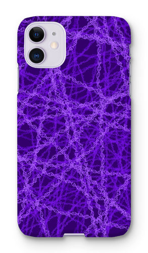 Genetic editing (purple) Phone Case - Boutique Science