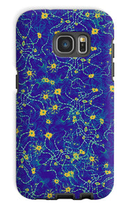 Blue Neurons Phone Case