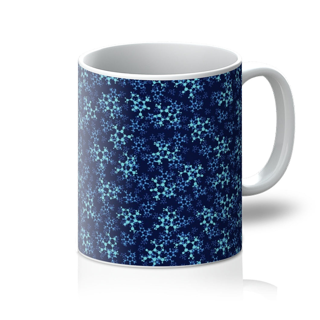 Blue Caffeine Mug - Boutique Science