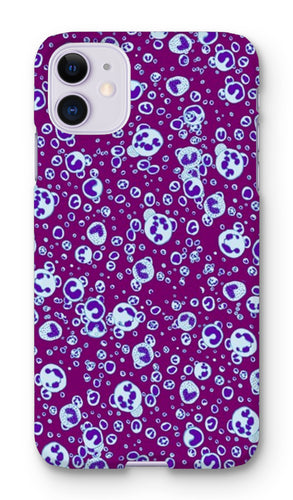 White Blood Cells Phone Case - Boutique Science