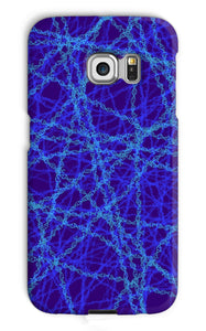 Genetic editing (blue) Phone Case