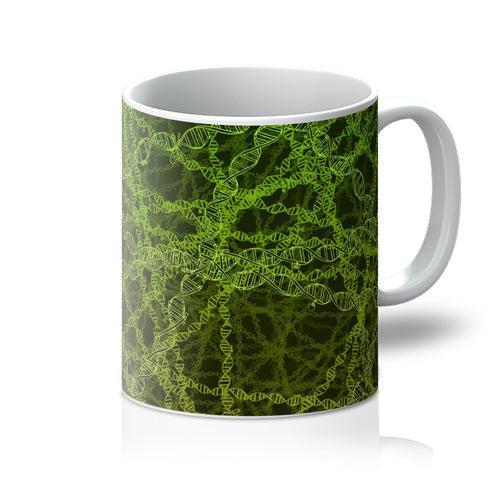 Genetic editing (green) Mug - Boutique Science