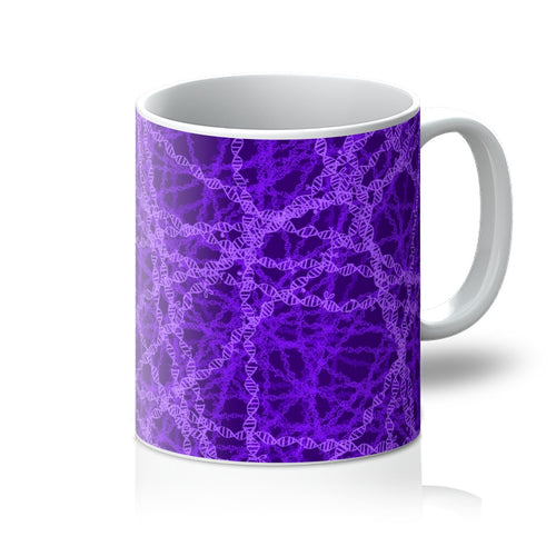 Genetic editing (purple) Mug - Boutique Science