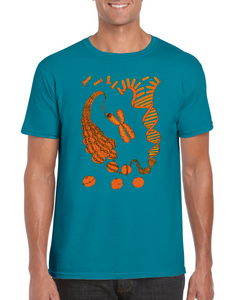 Chromatin structure T-shirt - Boutique Science