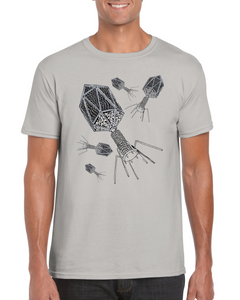 Bacteriophage T-shirt - Boutique Science