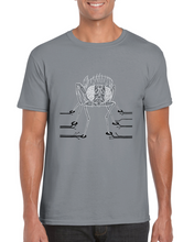 Load image into Gallery viewer, Drosophila computation neuroscience T-shirt - Boutique Science