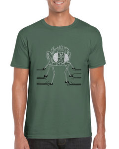 Drosophila computation neuroscience T-shirt - Boutique Science