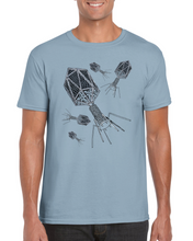 Load image into Gallery viewer, Bacteriophage T-shirt - Boutique Science