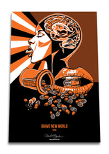 Load image into Gallery viewer, Brave New World Set of three posters - Boutique Science