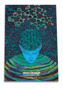 Unravelling Brains Poster - Boutique Science