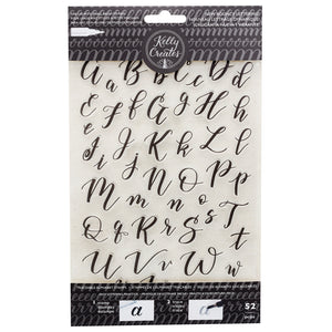 Bouncy Lettering - Traceable Alphabet Stamps