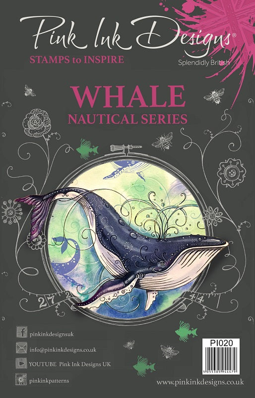 Pink Ink Designs - Whale Nautical Series