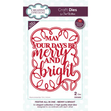 Load image into Gallery viewer, Craft Dies - Festive All in One - Merry & Bright