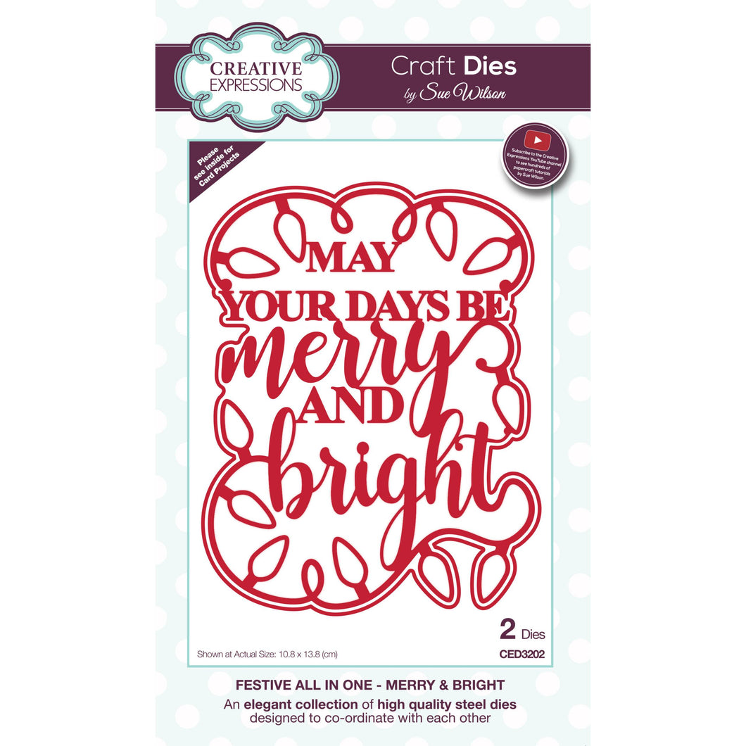 Craft Dies - Festive All in One - Merry & Bright