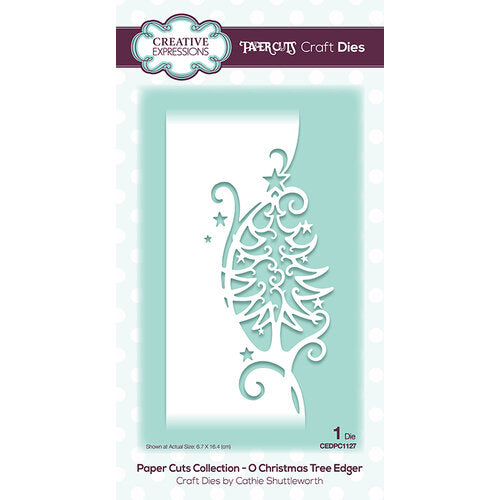 Paper Cuts Collection - O Christmas Tree Edger