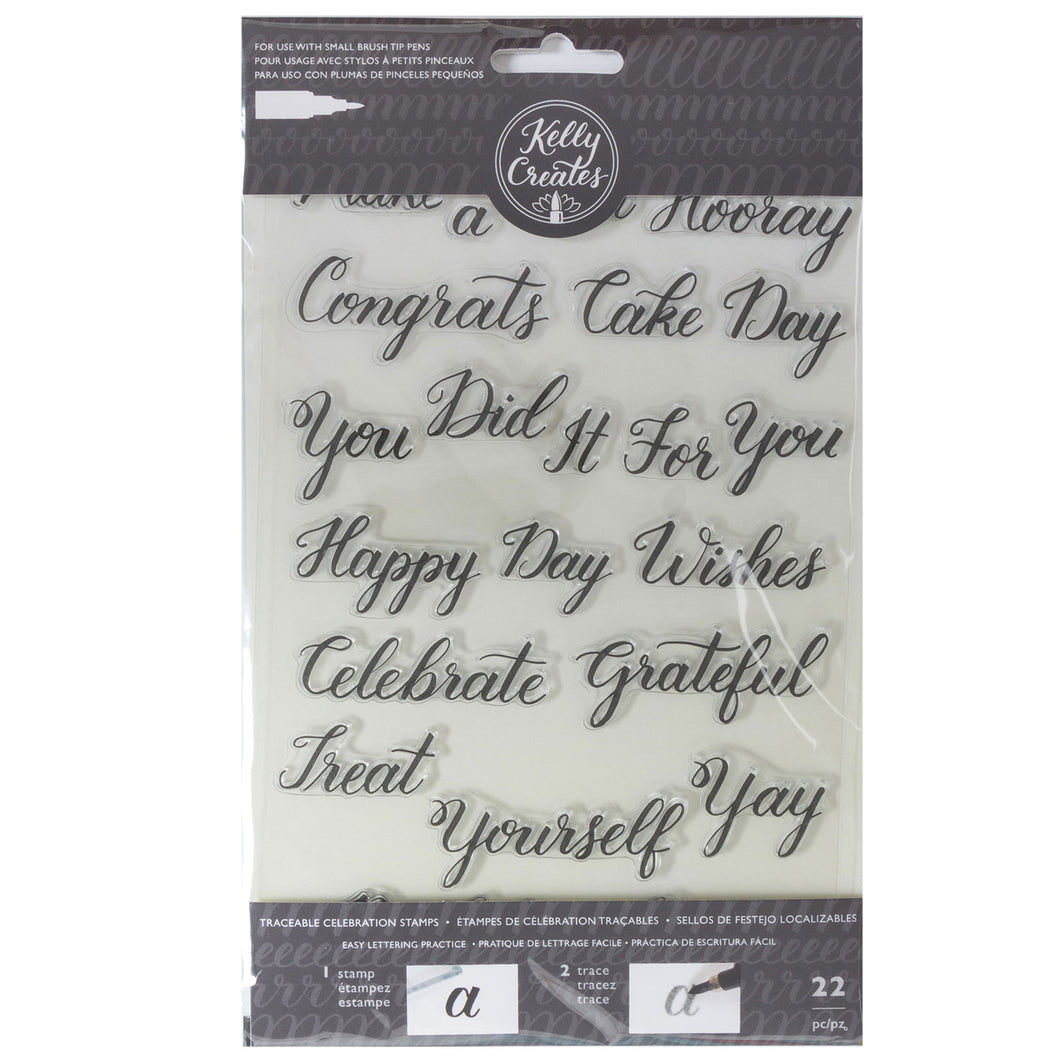 Traceable Celebration Stamps