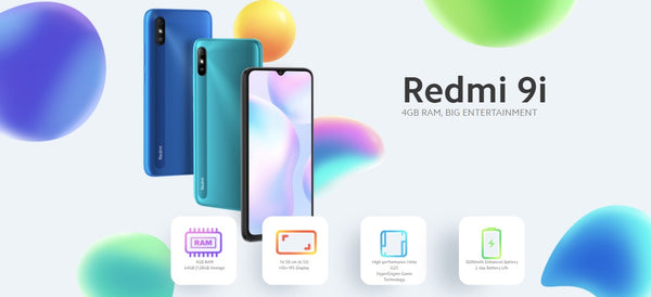 Xiaomi launched Redmi 9i in September 2020 in India