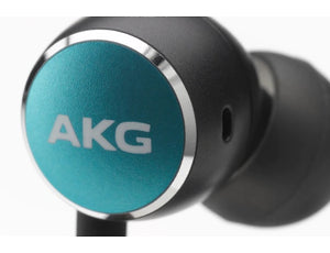 Get up to eight hours of playback on a single charge so you can listen all day at work with the AKG Y100.