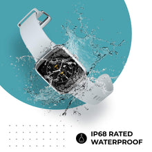 Load image into Gallery viewer, You can sweat as much as you like and even wear the ColorFit Pro 2 in the rain, thanks to its IP68 waterproof rating.