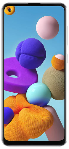 Immerse yourself in Samsung Galaxy A21s large 6.5