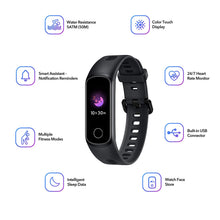 Load image into Gallery viewer, Honor Band 5i is a high-end TFT full color display fitness tracker with 50m water resistance, full screen touch and multiple fitness modes.