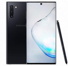 Load image into Gallery viewer, Samsung Galaxy Note10 melds high-polish metal and glass design seamlessly to present an impressively slim design.