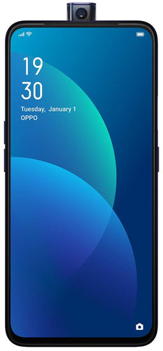 OPPO F11 Pro's new symmetrical design features a panoramic screen and signature gradients colors.