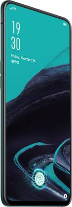 OPPO Reno2's powerful camera is hidden under a solid piece of durable glass creating an uninterrupted, flat surface.