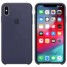 Load image into Gallery viewer, Made with a light durable material, the elegant Silicon Phone Case for iPhone XS Max has a very smooth texture.