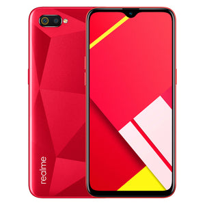 Realme C2's design delivers a diamond-section look with a combination of nanoscale composite material that allows the rear cover to quietly reflect various pearly shine as the angle changes.